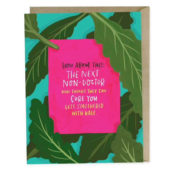Smothered with Kale Empathy Card