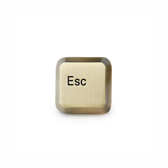Esc Key Enamel Pin