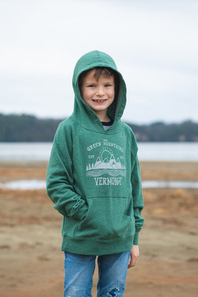 Youth Green Mountain Hoodie