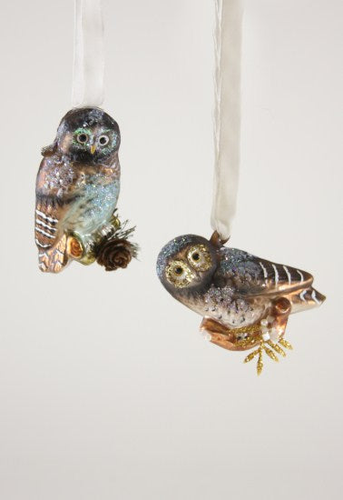 Forest Owl Ornaments