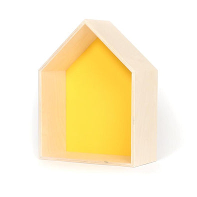 Yellow House Shelf