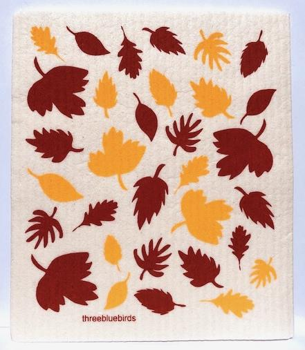 Fall Foliage Swedish Dish Cloth