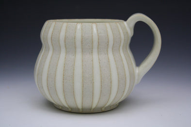 Bubble Mug White Stripes