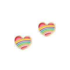 Rainbow Heart Cutie Earrings