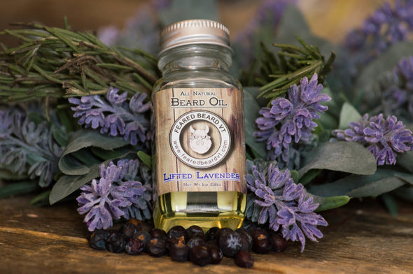 Lifted Lavender Beard Oil