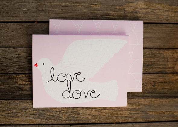 Love Dove Card