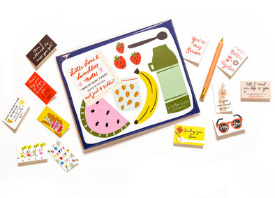 Love and Lunchbox Notes Set