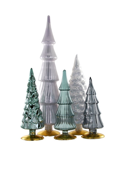 Hue Glass Tree Assorted Grey Tones
