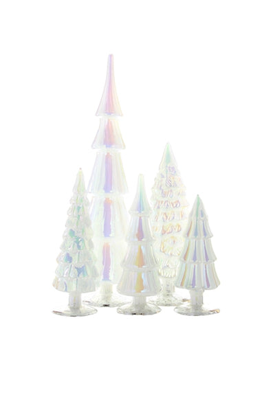 Hue Glass Tree Assorted Moonglow Tones