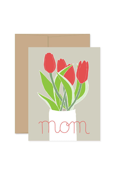 Mom Tulip  Greeting Card