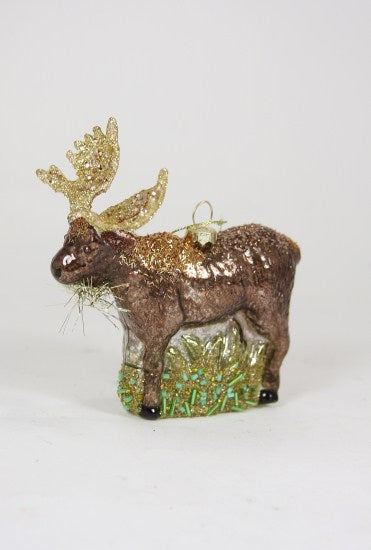 Northern Moose Ornament