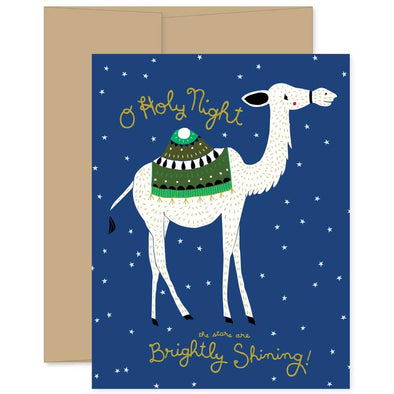 O Holy Night Greeting Card