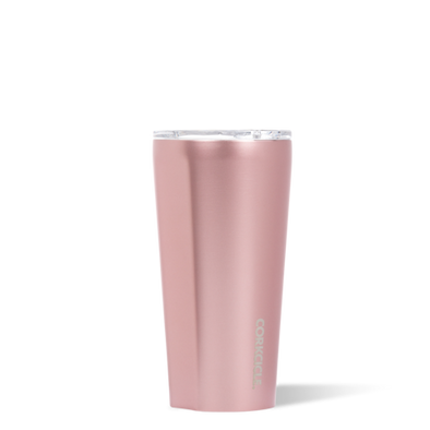 16oz Rose Metallic Tumbler