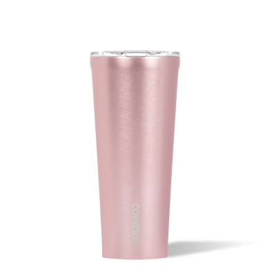 24 oz Rose Metallic Tumbler