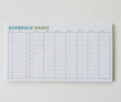 Schedule Magic Notepad
