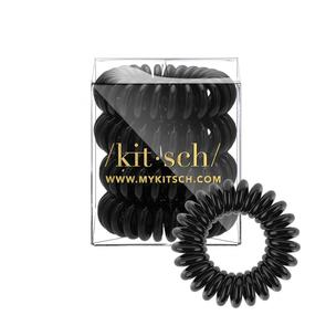 Black Hair Coils- Set of 4