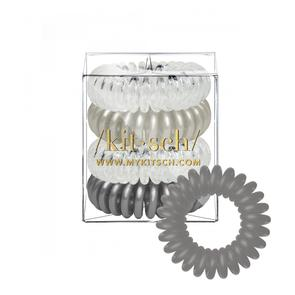 Charcoal Hair Coils- Set of 4