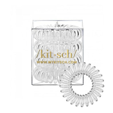 Mega Transparent Hair Coils- Set of 4
