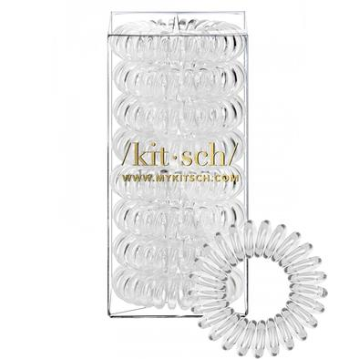 Transparent Hair Coils- Set of 8