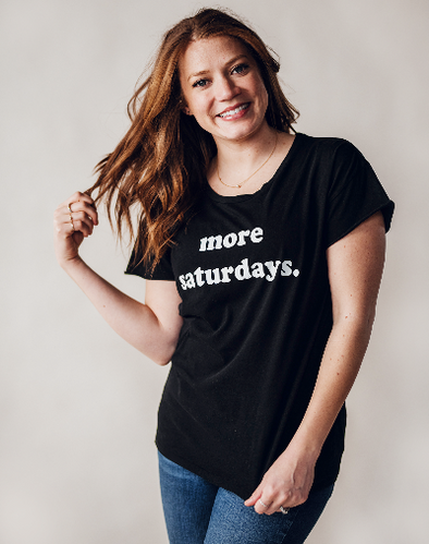 More Saturdays Relaxed Tee Shirt