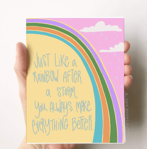 You make it better Friendship Love Card