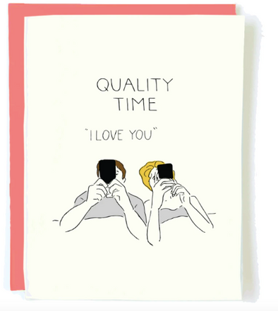 Quality Time card