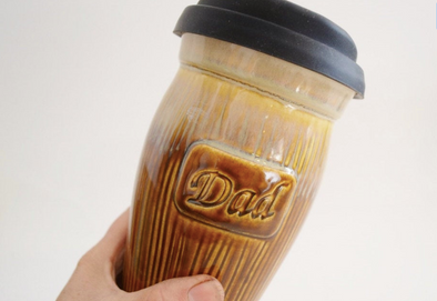 Ceramic Travel Mug - Dad