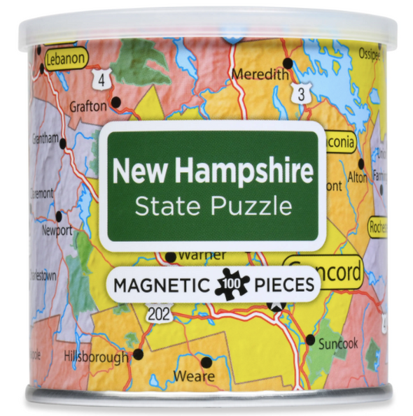 New Hampshire Magnetic Puzzle