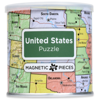 United States Magnetic Puzzle