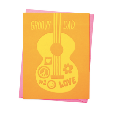 Groovy Dad Father's Day Card