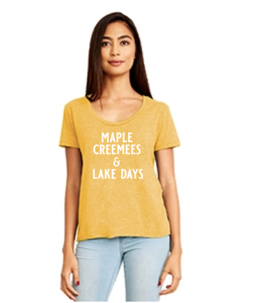Maple Creemees & Lake Days T-Shirt