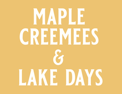 Maple Creemees & Lake Days Tank **PREORDER**