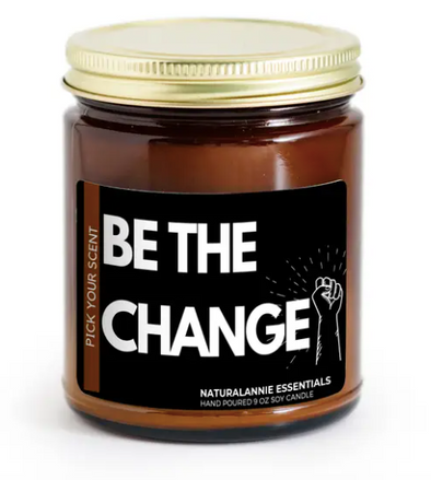 Be The Change! Soy Candle 9oz--Chili Pepper and Mandarin