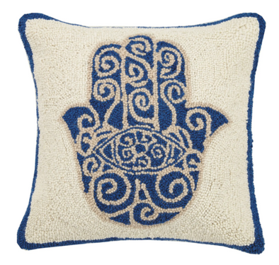 Hamsa Hook Pillow