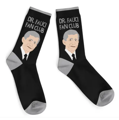 Dr. Fauci Fan Club Socks