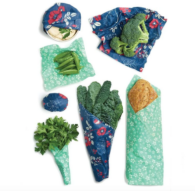 Variety Pack Bee's Wrap - Botanical Blue and Terra Floral