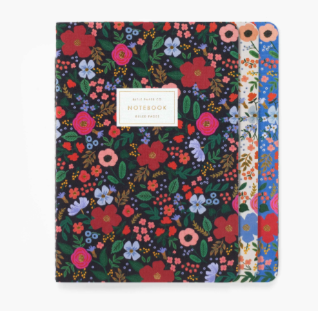 Assorted Set of 3 Notebooks
