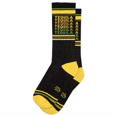 Tequila Ribbed Gym Socks