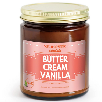 Butter Cream Vanilla Soy Candle