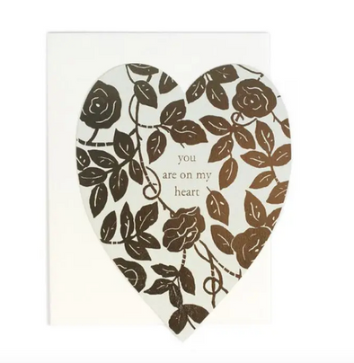 You are on My Heart Card
