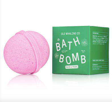 Palm + Pearl Bath Bomb