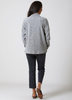 Pebble Knit Cardigan Silver