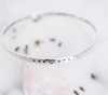 May my Heart be Kind Sterling Silver Bangle