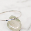 You're Stronger Than You Think... // Sterling Silver Bangle Bracelet