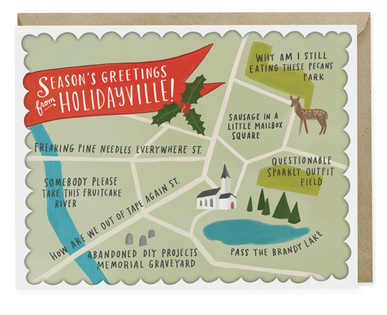 Holidayville Holiday Card