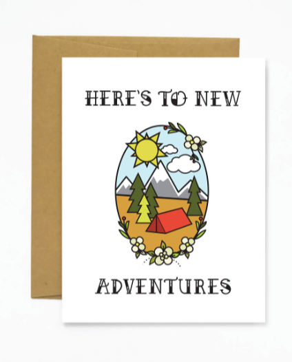 New Adventures Card