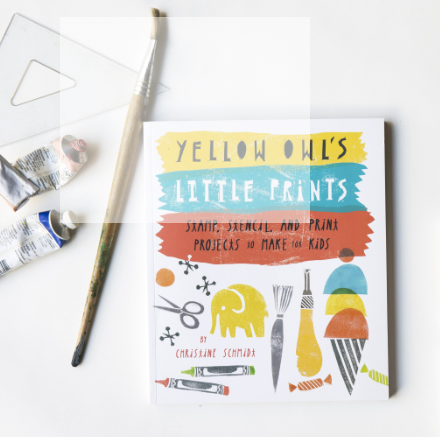 Yellow Owl's Little Prints Book
