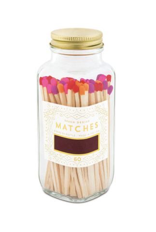 Match Bottle Pink Tips Small - WATERBURY