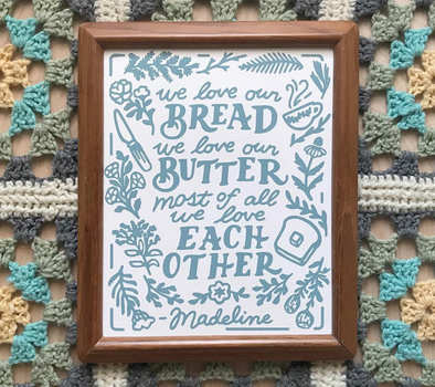 Bread and Butter Print