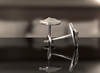 Camel's Hump Topography Cuff Links
